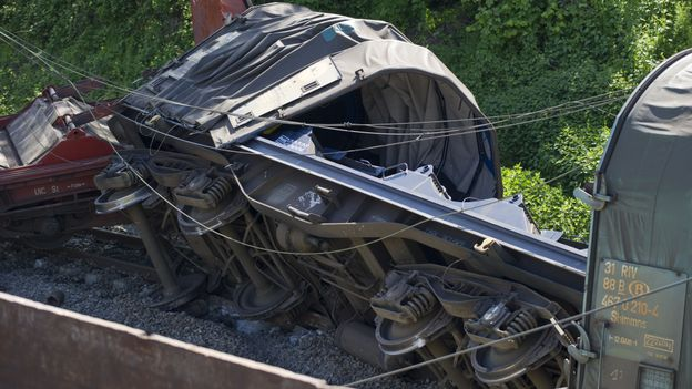Accident de train à Godinne le 11 mai dernier