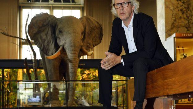 Stéphane Beel au Musée royal de l'Afrique centrale le 28 août 2013