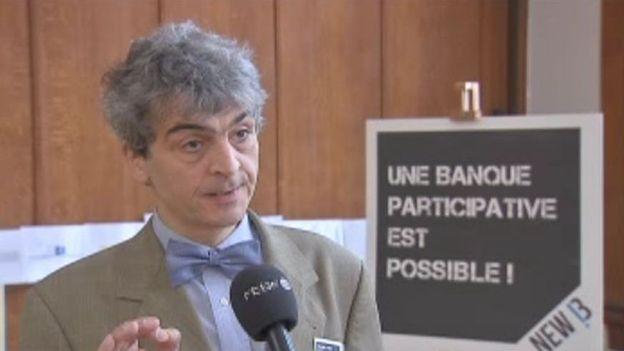 Bernard Bayot, président de New B