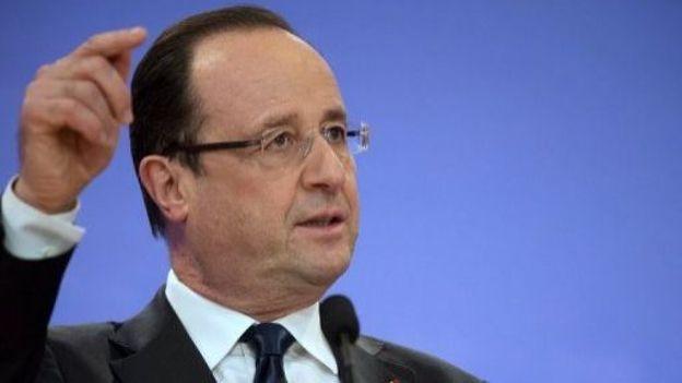 Le président François Hollande le 3 avril 2013 à Casablanca