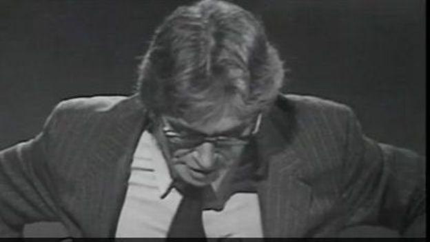 Maurice Clavel proteste contre la censure - 1971