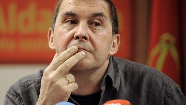 Arnaldo Otegi, en 2009
