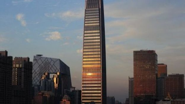 La China World Tower III, le bâtiment le plus haut de Pékin