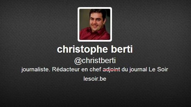 christophe berti est le nouveau r dacteur en chef du journal le soir. Black Bedroom Furniture Sets. Home Design Ideas