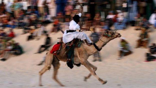 Course de chameaux à Tombouctou