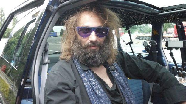 Sébastien Tellier dans Hep Taxi !