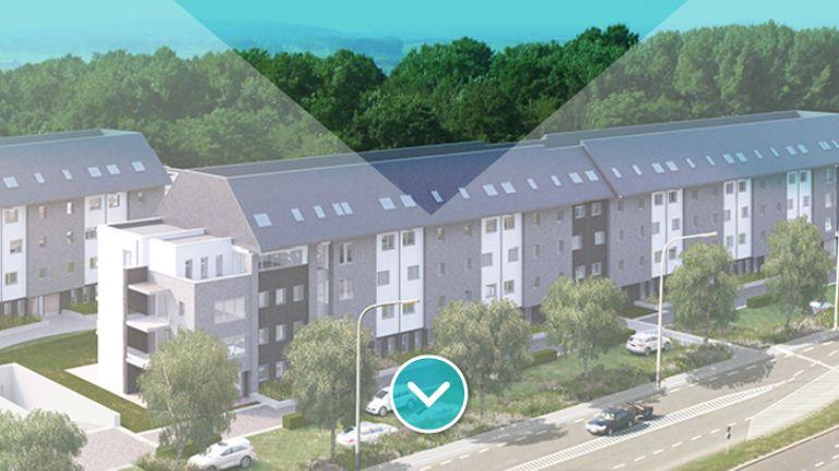 Vue globale du projet (157 logements)