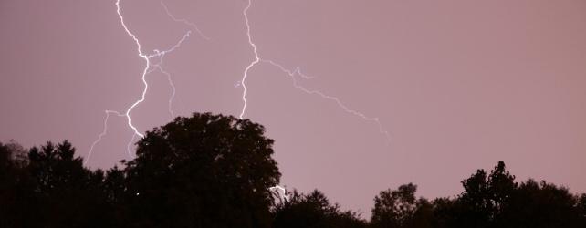Violents orages sur la Belgique